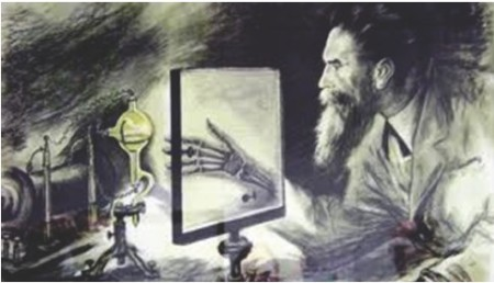 Wilhelm Conrad Roentgen discovered X-ray