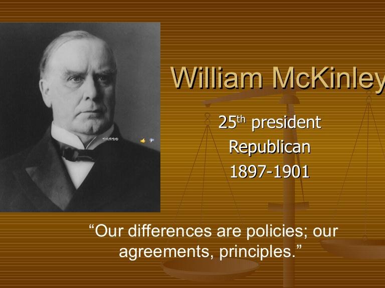 William Mckinley Famous Quotes: Spanish American War Quiz