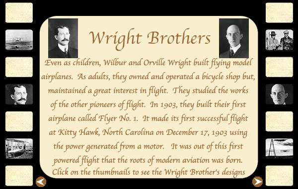 Wright Brothers Background Wright Brothers Biography