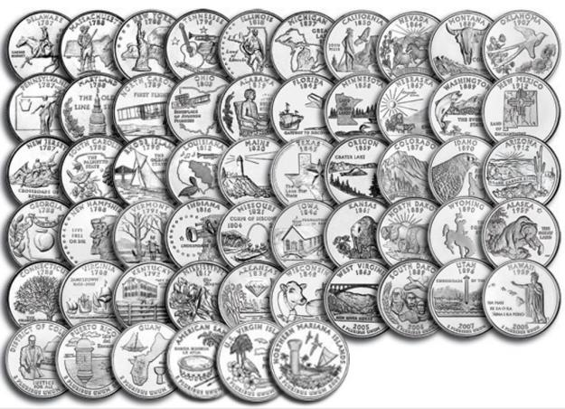 50 State Quarters