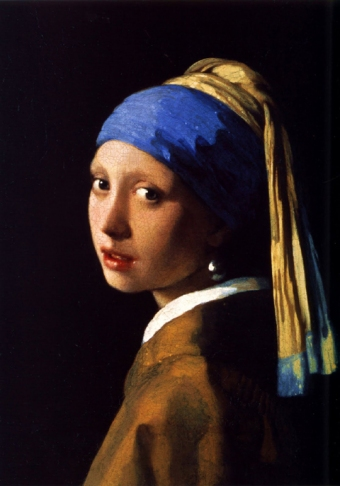 Girl with a Pearl Earring - Johannes-Vermeer