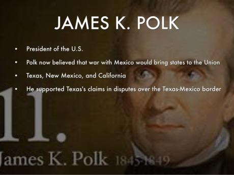 James Polk 1845-1849