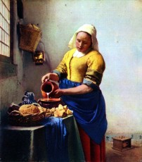 Johannes Vermeer - The Milkmaid