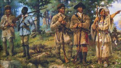 Lewis and Clark and Sacawagea
