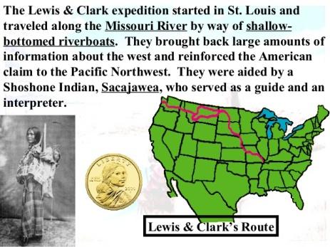 Lewis & Clark's Route