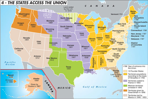 States access the union