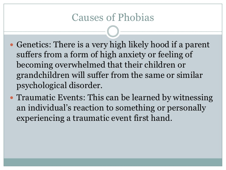Fear of commitment phobia name