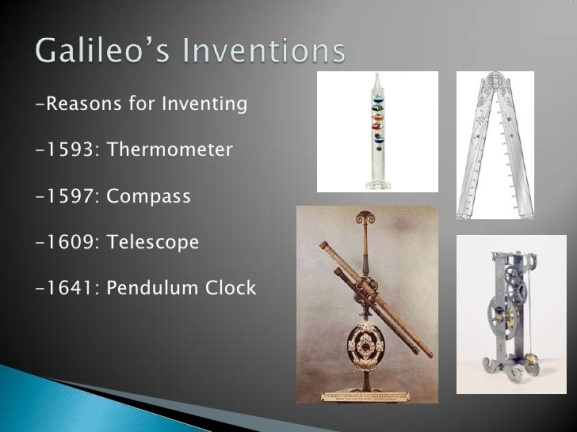 Galileo's Inventions