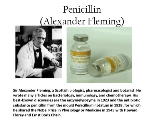 the medical life and contributions of sir alexander fleming