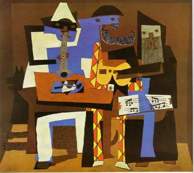 Three-Musicians-By-Pablo-Picasso