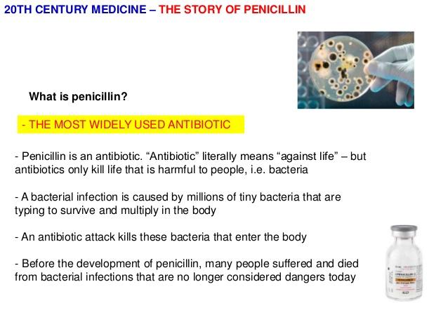 How do penicillins work?