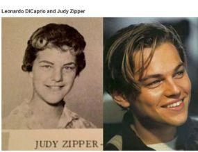 Doppelganger - Leonardo DiCaprio and Judy Zipper