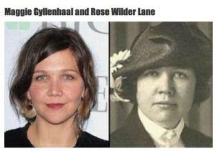 Doppelganger - Maggie Gyllenhaal and Rose Wilder Lane