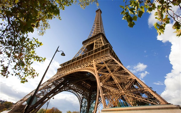 Eiffel Tower Close up