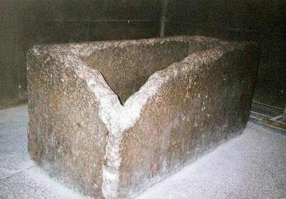 Great Pyramid of Giza - King's Chamber coffer