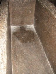 Great Pyramid of Giza - King's Chamber Inside Coffer