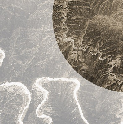 Great Wall of China from Space by satelitte