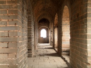 Great Wall of China - Inside Tower