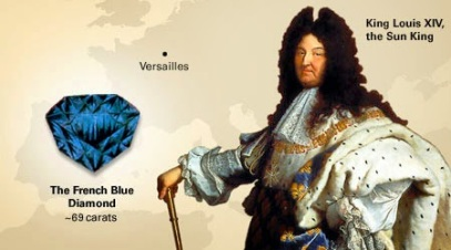Hope Diamond - King Louis XIV