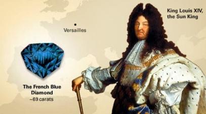 Hope Diamond - King Louis XIV