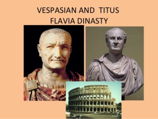 Vespasian and Titus - Flavia Dinasty
