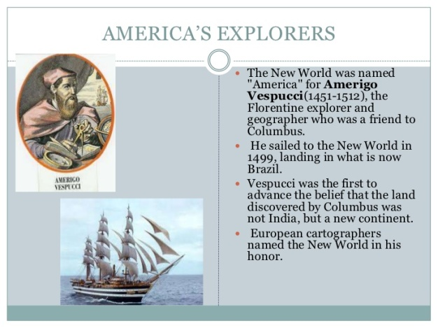 Amerigo Vespucci the Explorer