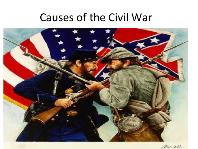 the causes of the american civil war Most academic scholars identify slavery as a central cause of the american civil  war slavery was the central source of escalating political tension in the 1850s.