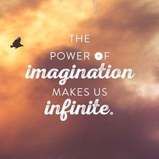Power of Imagination Makes Us Infinite