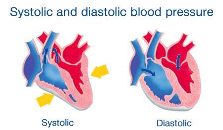 Systolic and Diastolic Blood Pressure