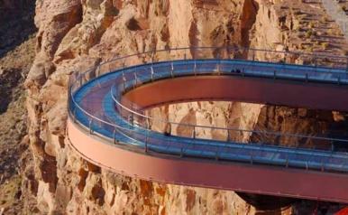 Grand Canyon Skywalk horse shaped