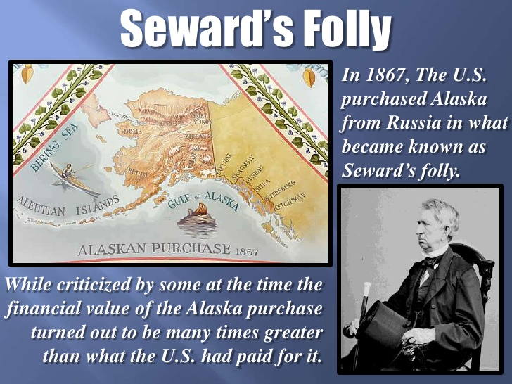 Why Did Russia Sell Alaska To The United States KnowItAll - Us map after sewards folly