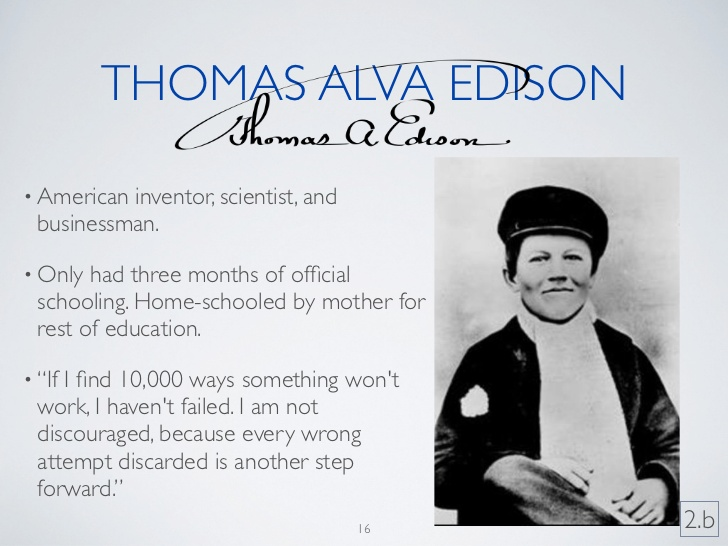 the early life education and inventions of thomas alva edison Learn about the famous inventor thomas alva edison who was thomas edison - biography who was thomas edison - biography, facts & timeline related study.