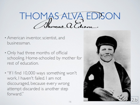 Thmas Edison Biography