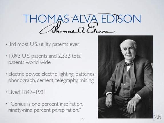 Thmas Edison Inventions