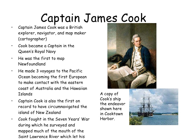 captain james cook essay Essay why samoans are so overrepresented in the nfl  but captain james cook's arrival in hawai'i in 1778 shattered the islands' epidemiological seclusion and triggered widespread death, including cook's and these priestly havens crumbled after kamehameha i occupied the island in the 1790s and eliminated them.