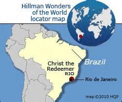 Christ the Redeemer Map