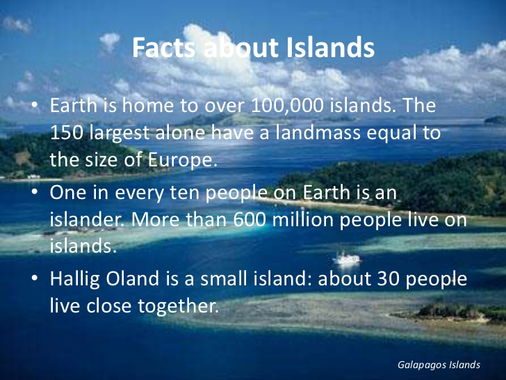 How Many Islands Are There In The World ?
