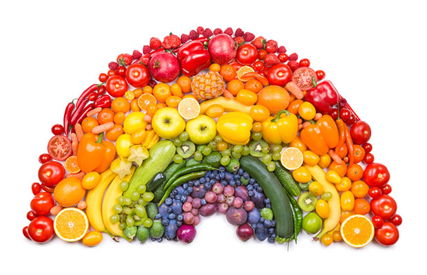 Fruits and Vegetables Rainbow