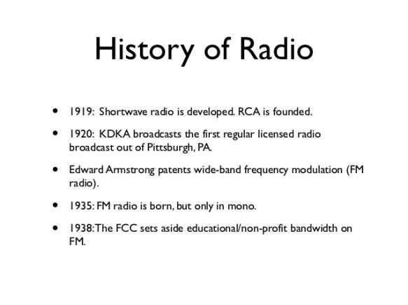 History of Radio 2