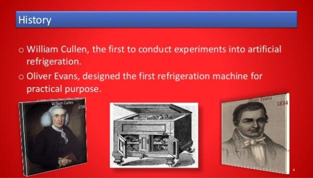 Refrigerator History
