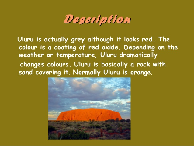 What Is Uluru Ayers Rock Made Of Know It All