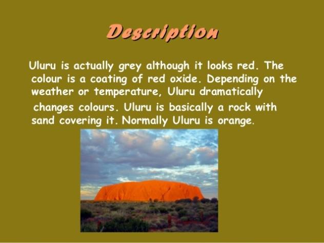Uluru description