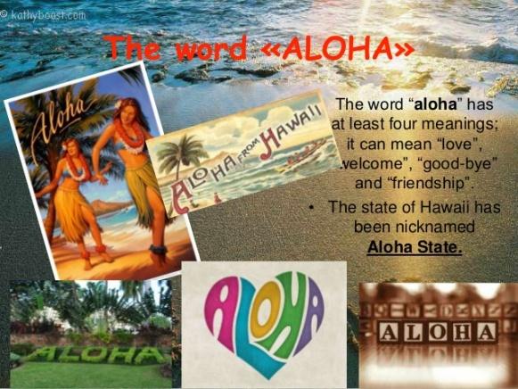 Aloha Meaning