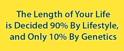 The Length of Your Life is Decided by Lifestyle