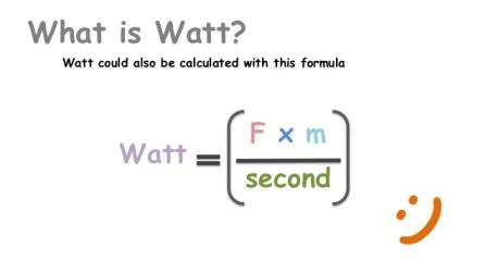 Watt Formula