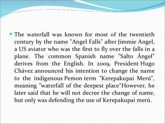 Amgel Falls Explorer