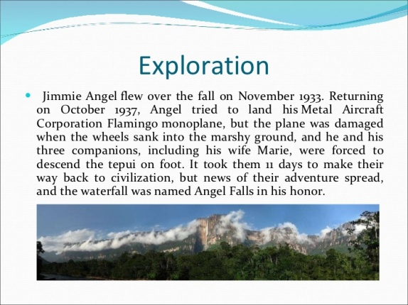 Angel Falls Exploration