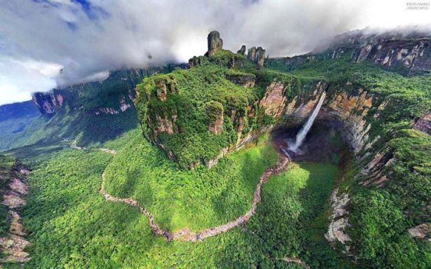 Angel Fall,Salto angel Venezuela,amazing waterfall,tallest World waterfall,best amazing waterfall