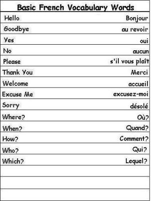 Basic French Daily