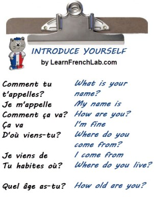 Basic French Introduction